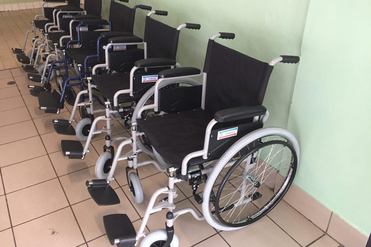 Nové invalidné vozíky